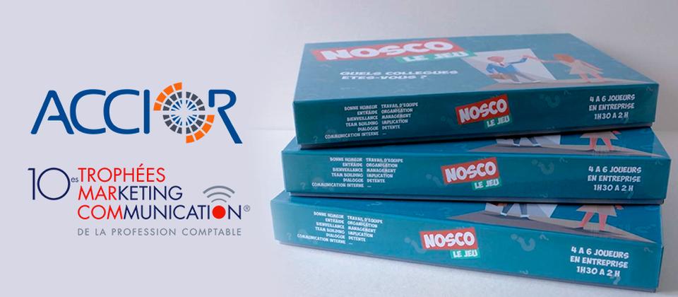 NOSCO le jeu de société | cabinet comptable aux Sables d'Olonne et à La Roche sur Yon