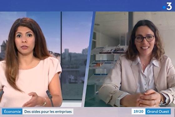 Actualités - Covid 19 - interview France 3 | cabinet comptable Les Sables d'Olonne et La Roche sur Yon